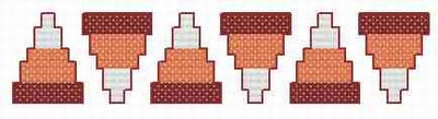 Candy Corn Border