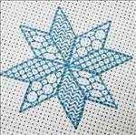 Blackwork Snowflake