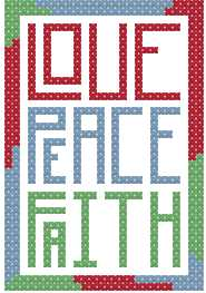 Love, Peace, Faith