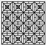 Blackwork Design Square