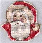 Old Fashioned Santa Magnet
