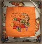 Cornucopia Tuck Pillow Ornament