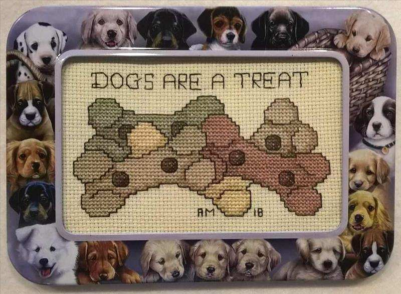 Dogs are a Treat Tin