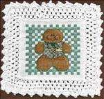 Gingerbread Man Doily