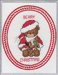 Bearkins and Santa Bear Card