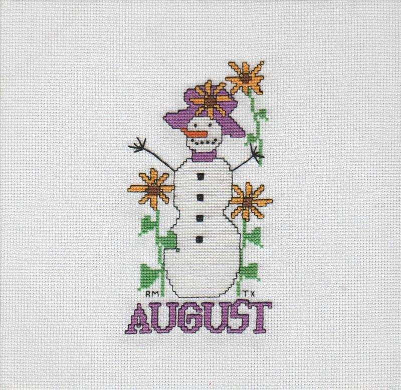Snowman of the Month Club August