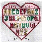 Monthly Hearts Afghan - September