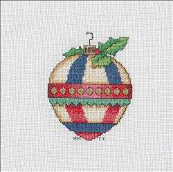 Cozy Christmas Afghan - Ornament