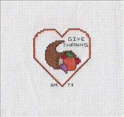 Monthly Hearts Afghan – November