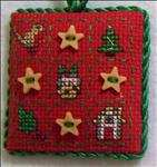 Christmas Patchwork Ornament
