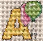Balloon Letter A