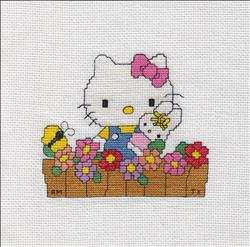 Hello Kitty - Flower Bed