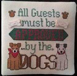 Dog Owner's Welcome