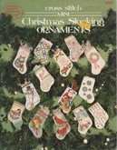 Cross Stitch Mini Christmas Stocking Ornaments | Cover: Various Mini Stocking Designs
