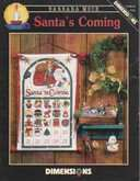 Santa's Coming Advent Calendar | Cover: Santa's Coming