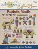 A Smidgen of Alma Lynne - Patriotic Motifs | Cover: Various America Mini Motif Designs