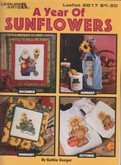 A Year of Sunflowers | Cover: December, January, February, and October