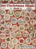 101 Christmas Minis Books Book 2 | Cover: Various Christmas Ornaments