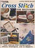 Cross Stitch For Beginners | Cover: Various Beginner Designs