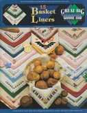 15 Basket Liners | Cover: Various Designs for Bread Cloths