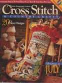 Cross Stitch & Country Crafts (now Cross Stitch & Needlework) | Cover: Merry Christmas, Santa Stocking