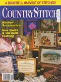 Country Stitch | Cover: Quilter's Cornacopia