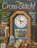 Cross Stitch Magazine | Cover: Townhouse Trio