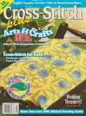 Cross Stitch Plus | Cover: Arts & Crafts Revival Footstool