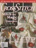 Cross Stitch Sampler | Cover: Cardinal and Poinsettia Afghan
