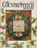 The Country Stitch Monthly | Cover: Peace on Earth