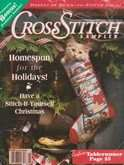 Cross Stitch Sampler | Cover: Country Cupboard Stocking
