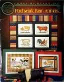 Patchwork Farm Animals | Cover: Various farm animals with borders.