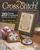 Cross Stitch Magazine | Cover: Violets are Blue