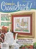 Crazy for Cross Stitch | Cover: Holiday View