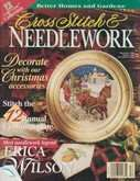 Cross Stitch & Needlework | Cover: Sleigh Christmas Plate