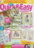 UK Quick & Easy Cross Stitch | Cover: Tiger
