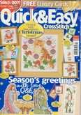 UK Quick & Easy Cross Stitch | Cover: Christmas Kitten