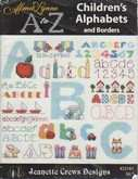A to Z Children's Alphabets & Borders | Cover: Various letters and Numbers