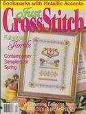 Just Cross Stitch | Cover: Tulip Sampler