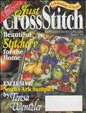Just Cross Stitch | Cover: Tapestry of Fruit