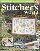 Stitcher's World (now Cross-Stitch & Needlework) | Cover: Spring's First Flowers