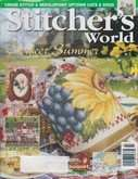 Stitcher's World (now Cross-Stitch & Needlework) | Cover: Ladybug on Sunflower