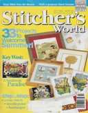 Stitcher's World (now Cross-Stitch & Needlework) | Cover: White Orchid Butterflies