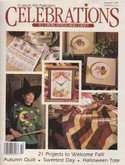 Celebrations to Cross Stitch & Craft | Cover: Mallards, Woods Ducks, Clock, and Table Linens