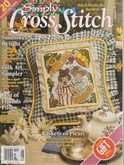 Simply Cross Stitch (now Cross Stitch Magazine) | Cover: Best Friends