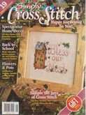 Simply Cross Stitch (now Cross Stitch Magazine) | Cover: Bless Our Nest