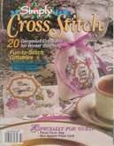Simply Cross Stitch (now Cross Stitch Magazine) | Cover: Just for You - Favor Bag