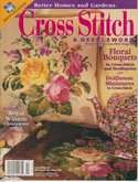 Cross Stitch & Needlework | Cover: Rose Bouquet - Pillow