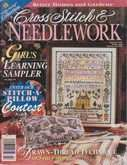 Cross Stitch & Needlework | Cover: Girl's Learning Sampler