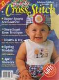 Simply Cross Stitch (now Cross Stitch Magazine) | Cover: Counting Set